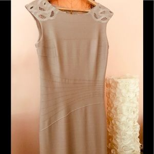 Kay Unger Bandage Waist Gown